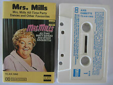 MRS MILLS ALL TIME PARTY DANCES AND OTHER FAVES AUSSIE RELEASE CASSETTE TAPE
