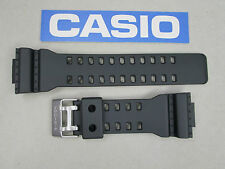 Genuine Casio G-Shock GR8900 GR8900A GW8900 GW8900A black resin watch band strap