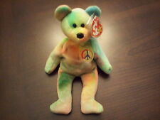 d7ca931d91b 1996 Ty Beanie Baby Peace MWMT 4th Gen Tag Errors PVC Style 4053 Colors
