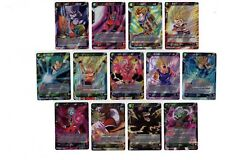 Dragonball Super Card Game Cross Worlds Complete Rare Set