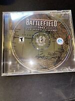 Battlefield 1942: The Road to Rome (PC, 2003) W/ Serial Number On Back