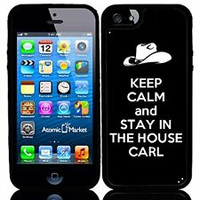 Keep Calm and Stay In The House Carl For Iphone 6 Case Cover