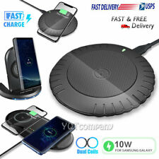 For Samsung Galaxy S20 S10 S9 S8 Note 10 9 8 Wireless Fast Charger Charging Dock