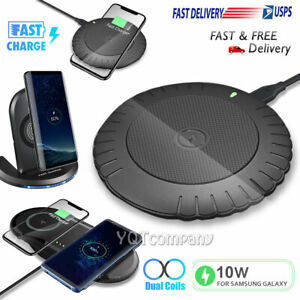 For Samsung S21 S20 S10 S9 S8 Note 20 Note10 Wireless Fast Charger Charging Dock