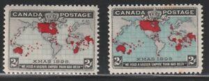 Canada   1898   Sc # 85-86   MNH   XF   $200   (55507)