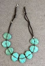 Unbranded Turquoise Oval Stone Costume Necklaces & Pendants
