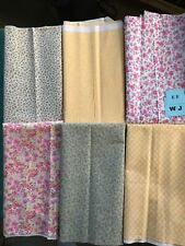 fabric good quality 100% cotton 6 one yard pieces