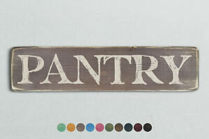 PANTRY Vintage Style Wooden Sign. Shabby Chic Retro Home Gift
