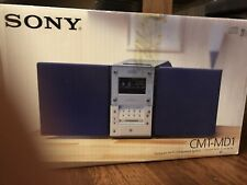 Rare Sony Compact Hi-Fi Component System CMT-MD1 SONY MD/CD/Tuner MiniDisc W Boc