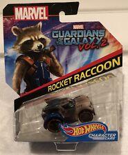 Guardians of the Galaxy - Rocket Raccoon - Hot Wheels Character Cars - Mint