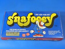 Brand New Vintage SNAFOOEY Deluxe Edition Family Card Game 1982 Factory Sealed!