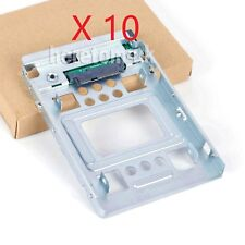 """10X HP 654540-001 New 2.5"""" to 3.5"""" SATA HDD SSD SAS Hard Disk Carrier Caddy Tray"""