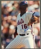 """DWIGHT """"DOC"""" GOODEN AUTOGRAPHED SIGNED NEW YORK METS 8X10 PHOTO"""