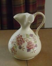"""Antique Victoria Carlsbad Handpainted Pinched Pitcher Creamer 5"""" Tall EXC"""