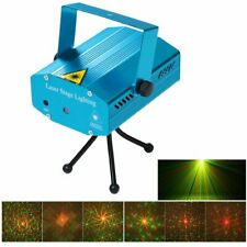 Indoor Portable LED Laser Light Projector w/Remote
