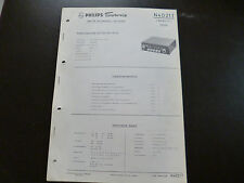 ORIGINALI service manual Autoradio PHILIPS n4d21t SPYDER