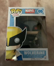 Funko Pop Marvel Universe 05 Wolverine Bobble-Head Vinyl Character Figure NEW