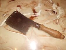 Vintage C. Whitehouse & Sons Cannock Warranted 1 Carbon Steel Cleaver Knife