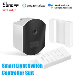 SONOFF D1 Dimmer Switch Wireless Smart Dimmer Switch Timer APP Remote Control