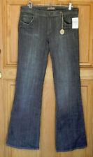 See Thru Soul Ladies Size 31 Low Rise Bootcut Black Jeans NWT
