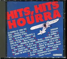 HITS HITS HOURRA ! - 1987 CARRERE FRANCE RARE CD COMPILATION [2631]