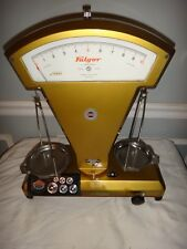 Vintage 1955 Mid Century Modern Jeweler Apothecary Scale by Fulgor Italy Works