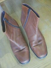 Sioux: Sachetto. Tan leather boots. Size 5 / 38.