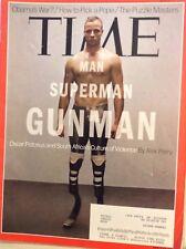 Time Magazine Oscar Pistorius The Gunman March 11, 2013 110117nonrh