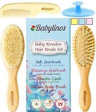 4 Piece Baby Hair Brush Set with Baby Brush