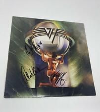 "EDDIE VAN HALEN BAND X3 SIGNED AUTOGRAPH ""5150"" ALBUM RECORD VINYL LP REAL COA"
