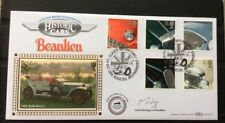 1996 Classic Sports Cars FDC Rolls Royce Signed MONTAGU Of BEAULIEU-Motor Museum