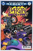 Batgirl Birds of Prey #2 Rebirth ORIGINAL Vintage 2016 DC Comics