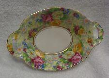 Royal Albert Rose Chintz Dual Handled Oval  Candy Dish