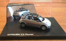 NoRev - Citroen C3 Pluriel Model Car, Silver *NIB* 1:43 Diecast