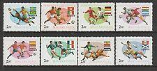 Hungary 1978 Football world cup UM/MNH SG 3186/93