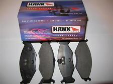Hawk HPS HB410F.721 Front Brake Pads:  Dodge Daytona, Spirit, Lebaron, Caravan