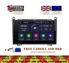 "9"" DVD GPS NAVI BT ANDROID 9.0 4GB DAB  MERCEDES BENZ A CLASS W169/VITO RV5340"