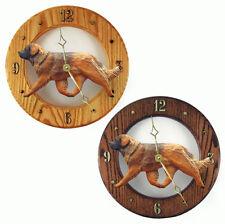 Leonberger Wood Clock