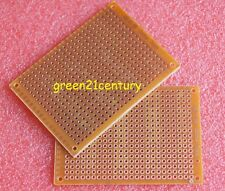 10pcs PCB 5x7 cm Universal Prototype Paper Matrix Circuit Board Stripboard 5X7