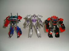 Transformers Prime Cyberverse Lot Of 3 Figures Incomplete