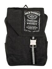 Jack Daniels Backpack  Bottle Logo Canvas Jack Daniel's Black