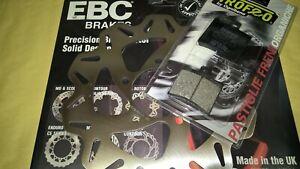 disco freno EBC wave posteriore + pastiglie Aprilia Sportcity 125 200 250 300