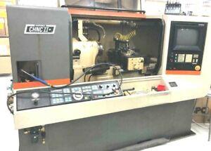 Hardinge CHNC 2 Lathe Machine  CNC TURNING CENTER CHUCKER LATHE