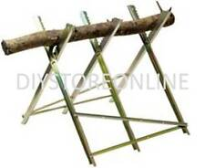 300mm Log Capacity Log Saw Horse 150kg maximum log weight