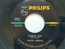 "WOODY HERMAN - What Kind Of Fool Am I? / Ramblin' Rose 1964 JAZZ Philips 7"""