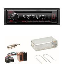 Kenwood KDC-130UR USB CD Autoradio AUX Einbauset für Renault Clio 1 2 Twingo