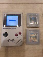 Nintendo Gameboy Game Boy Konsole DMG-01 Top Zustand mit Backlight +2 Spiele TOP