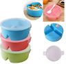 Meal Prep Containers Plastic Food Storage Work Office Lunch Dinner Box Reusable
