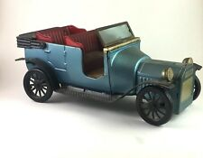 Vintage Bandai Blue FORD 1915 Model T Friction CAR SIGN OF QUALITY Collecting