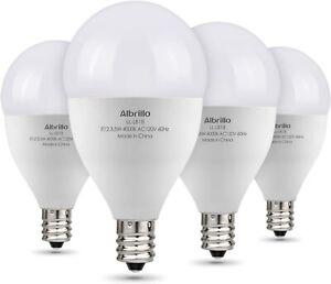 Albrillo E12 LED Bulb, Candelabra Bulbs 40 Watt Equivalent, LED Chandelier Bulbs